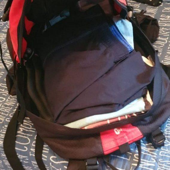 La mochila que usamos para hacer el Camino de Santiago
