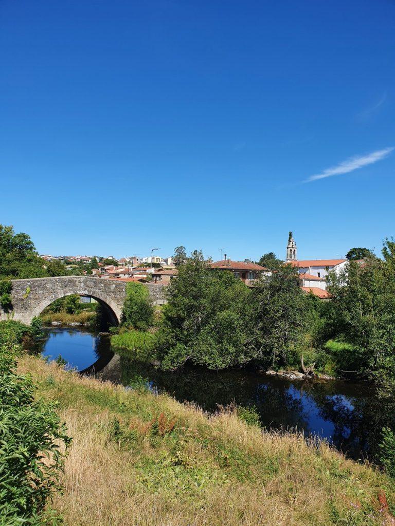 El puente medieval de Melide