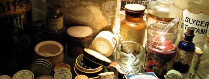 Medicamentos usados en The Old Operating Theatre