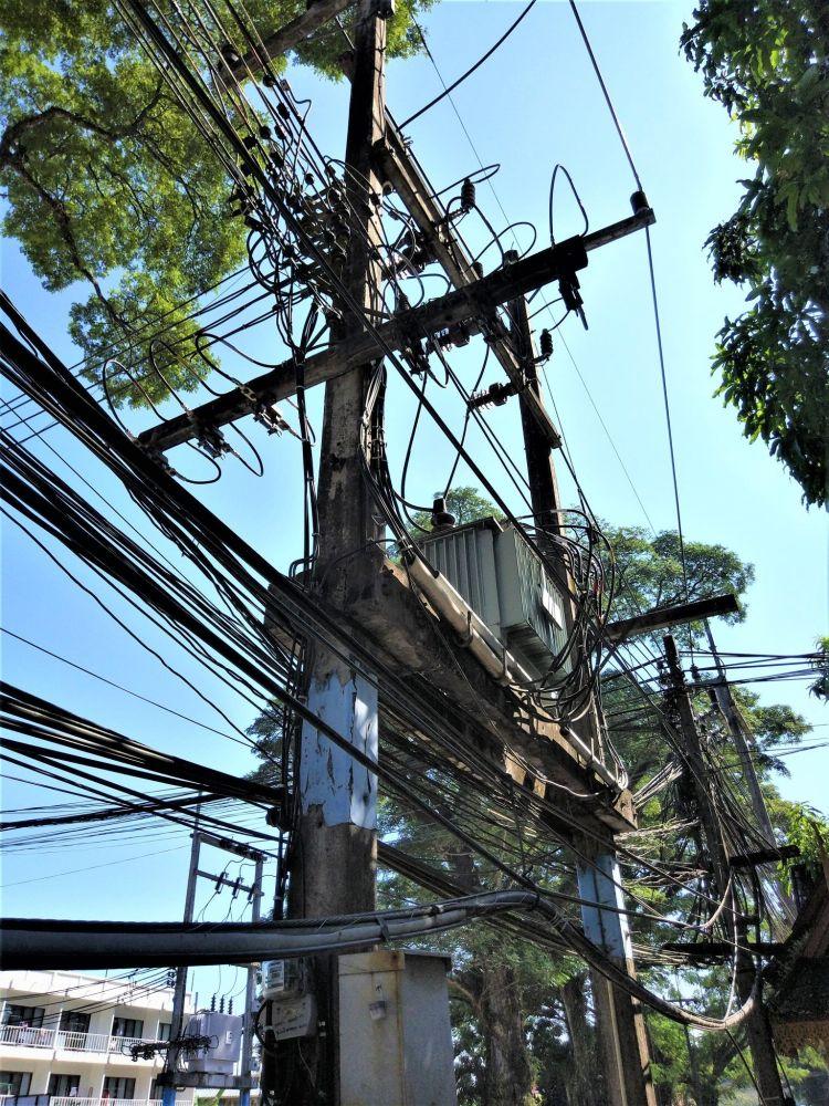 Cableado Tailandia