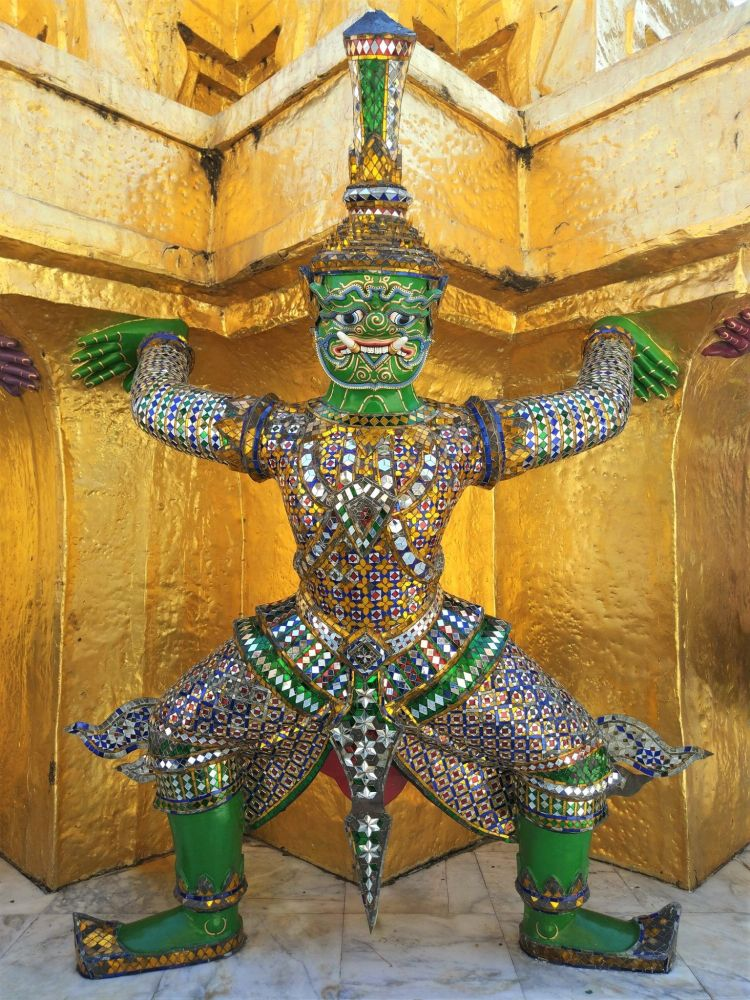 Figura Gran Palacio Bangkok