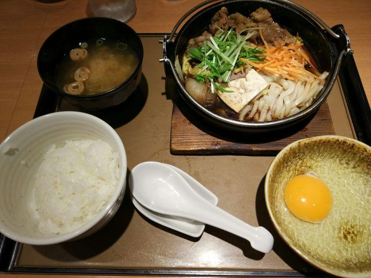 Huevo crudo en Japón