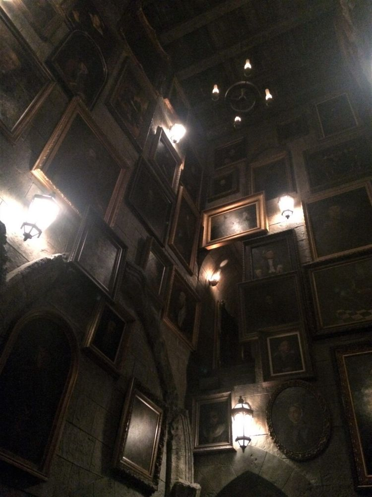 Interior castillo Harry Potter