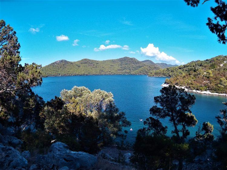 Lago Veliko Jezero desde el monasterio de Sta María