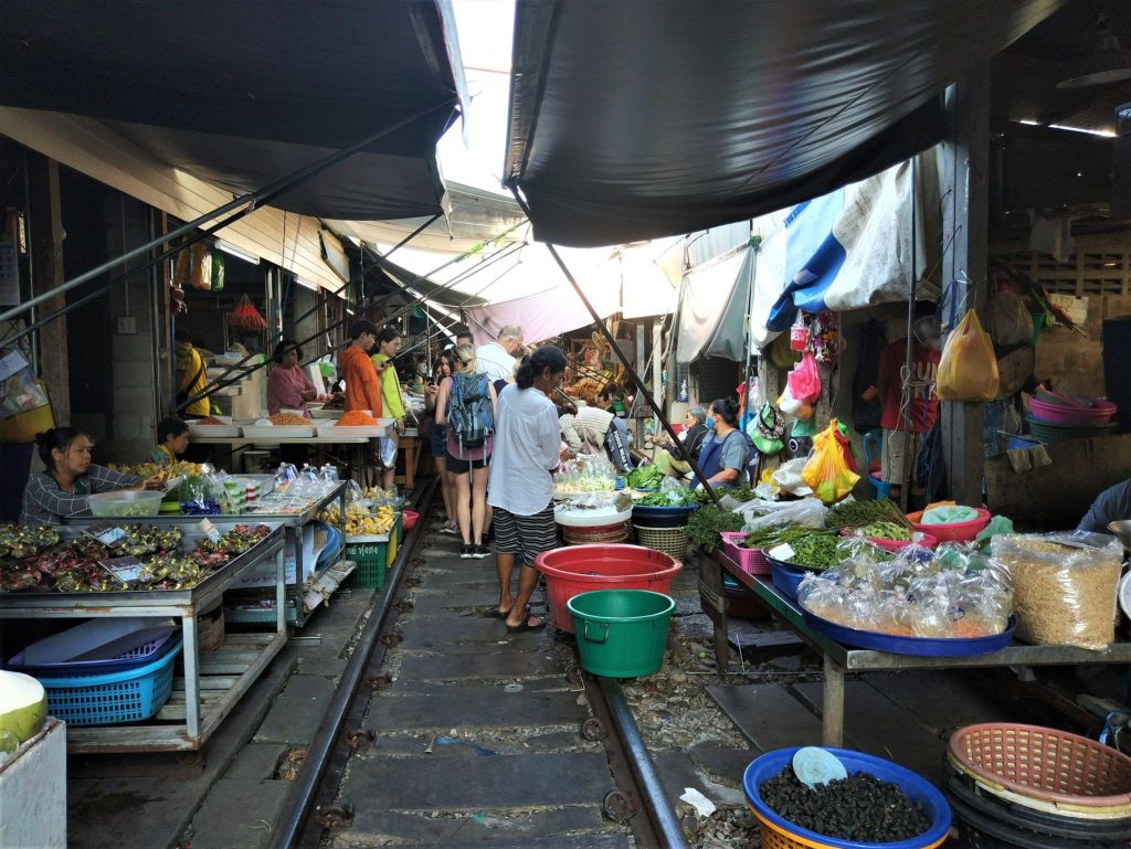 Mae Klong mercado