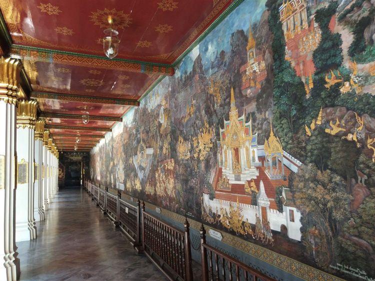 Murales Gran Palacio Bangkok