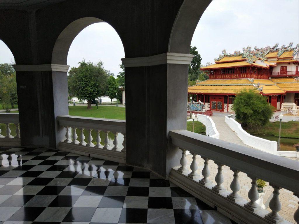 Pabellón chino desde la torre