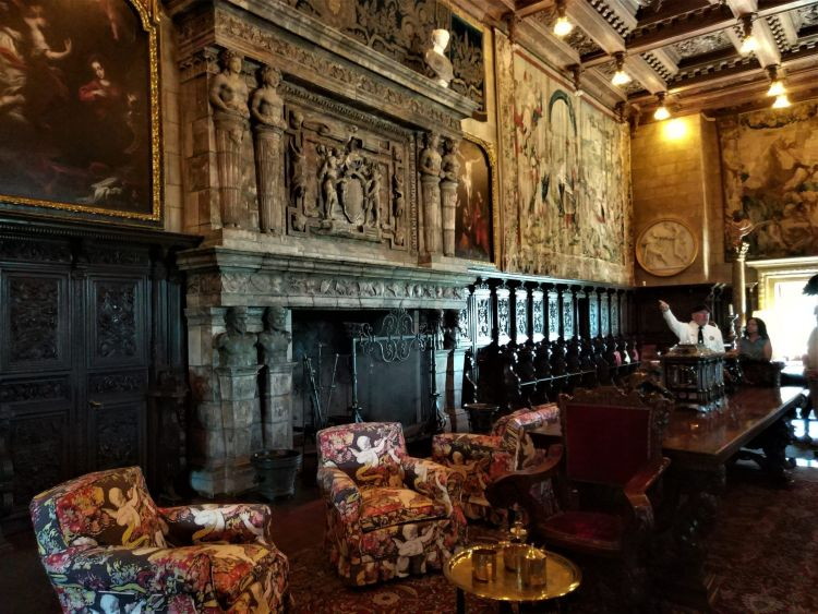 Sala de reuniones Hearst Castle