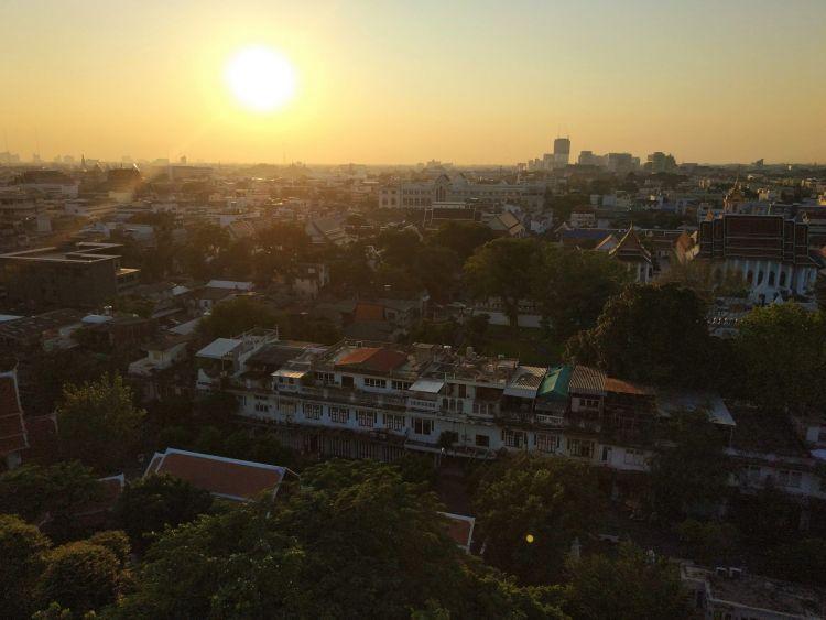 Vistas mirador Wat Saket