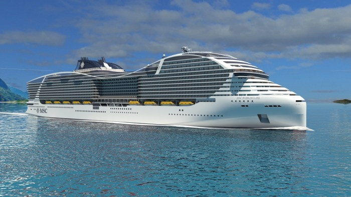 MSC Cruzeiros e STX France confirmam encomenda de navios da Classe World  movidos a LNG 2485b8a37a510