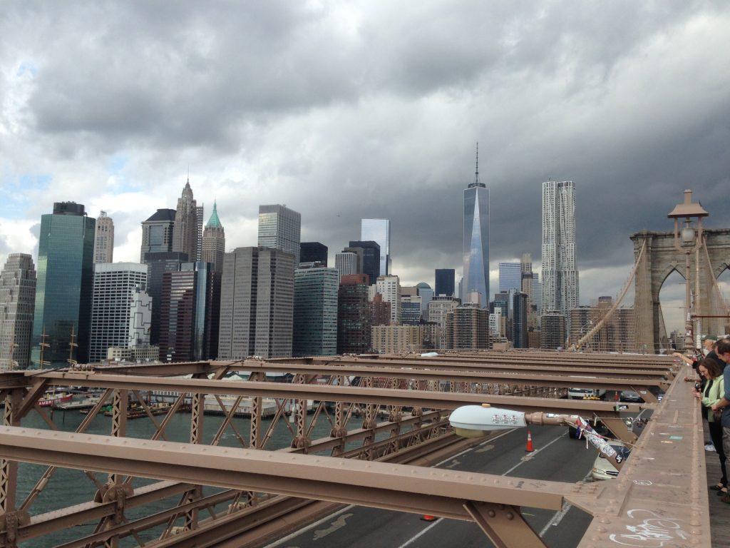 Manhattan desde el Puente de Brooklyn - Mi segunda visita a Nueva york