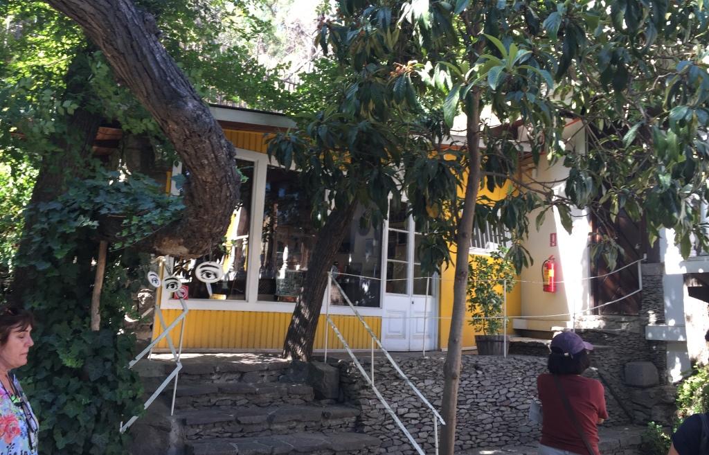 La Chascona - Casa de Pablo Neruda en Santiago de Chile