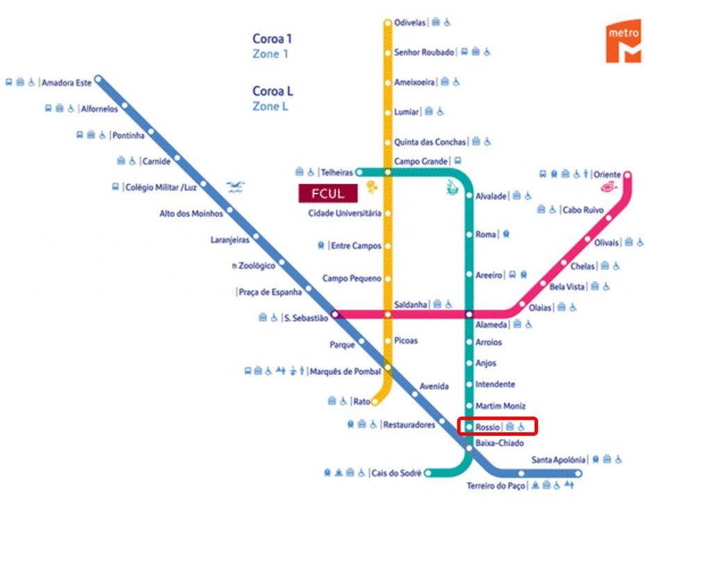 Metro de Lisboa - Cómo ir de Lisboa a Sintra en tren