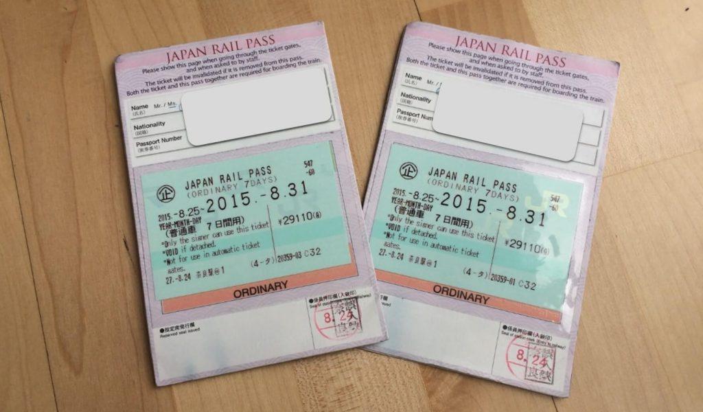 Cómo usar el JR Pass en Japón - Canje Japón