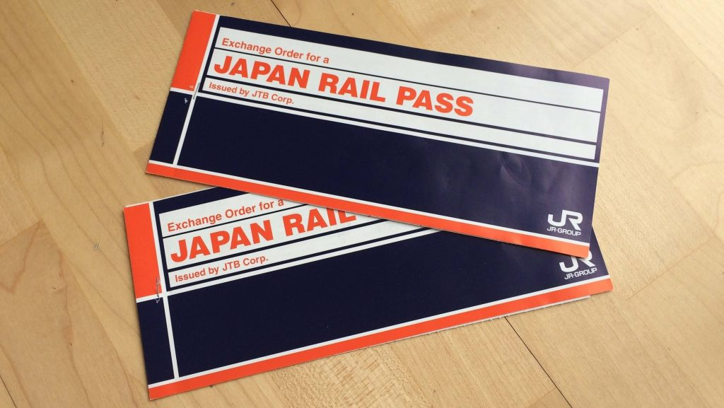 Cómo usar el JR Pass en Japón - Japan Rail Pass Vouchers
