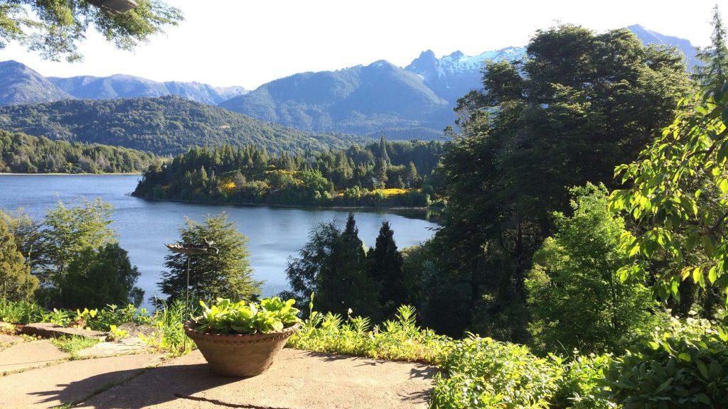 Bellevue Bariloche  Casa de té y tortas - vistas
