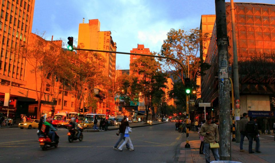 Calles de Bogotá, Colombia