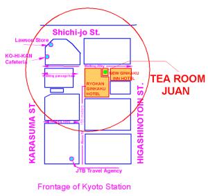 Ceremonia del té Juan Kyoto - Japón