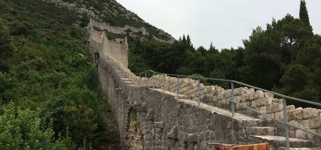 Ston Croacia muralla china europea