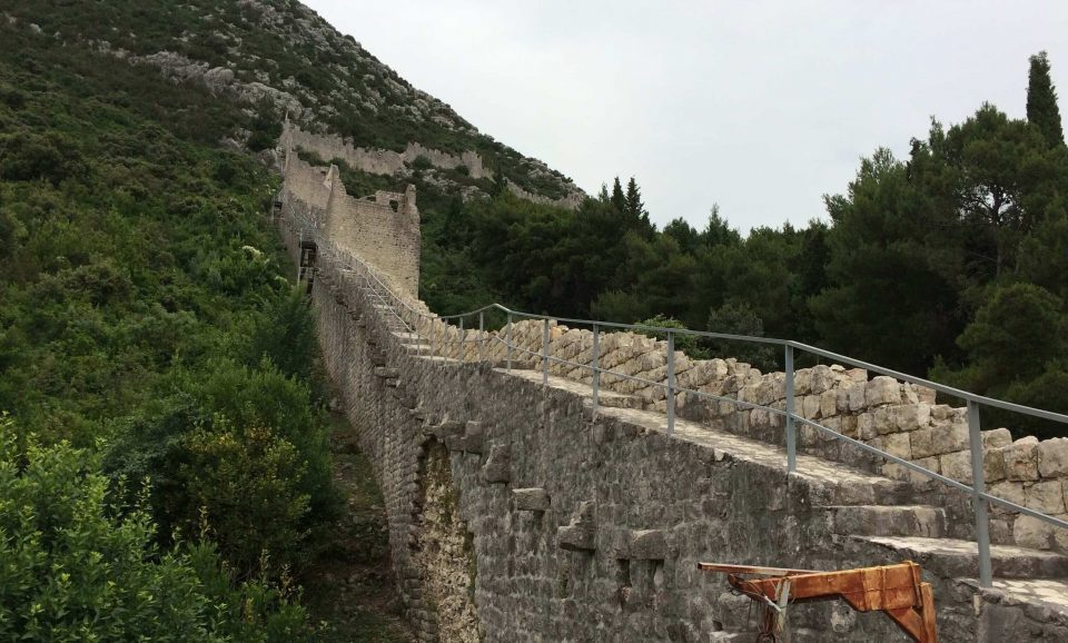 Ston Croacia muralla china europea