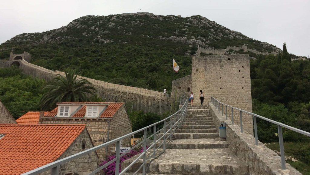 Ston Croacia muralla