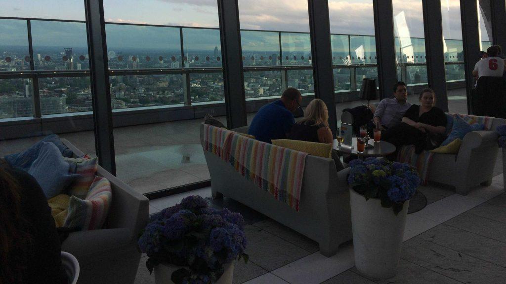 sky garden bar londres