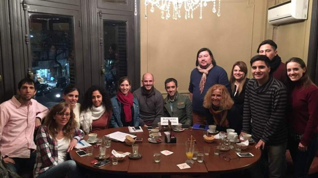 Primer encuentro de Bloggers Meetup