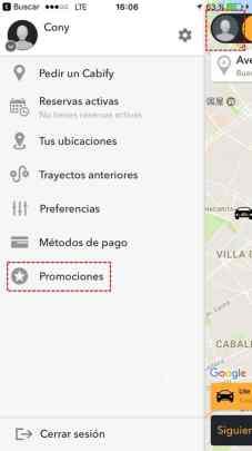 cabify descuento