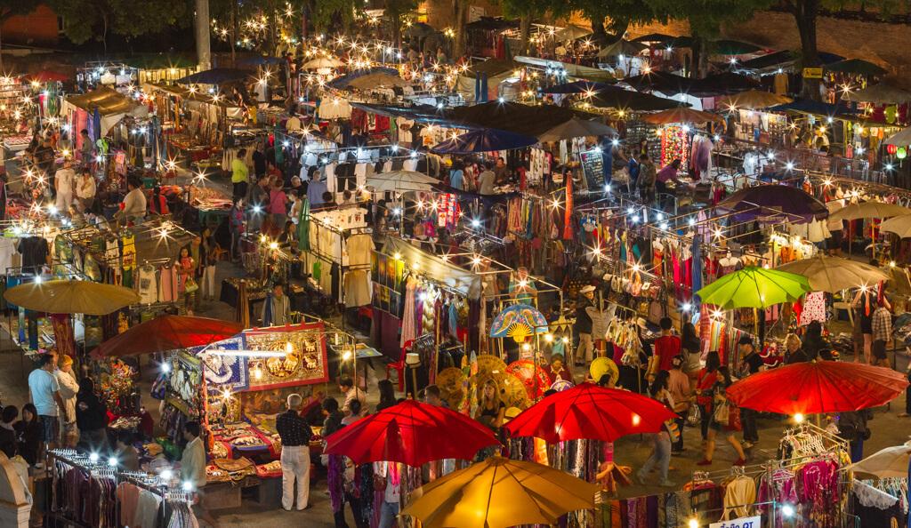 Donde hospedarse en Chiang Mai zona Night Bazaar