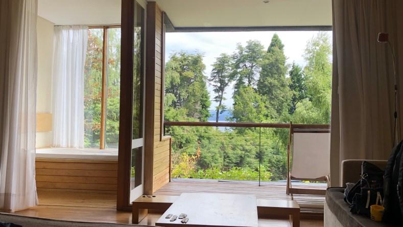 Hotel Design Suites Bariloche habitacion