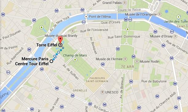 Hotel Mercure Paris Centre Tour Eiffel Viajaromundo Com