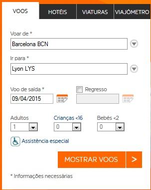 BCN - LYS