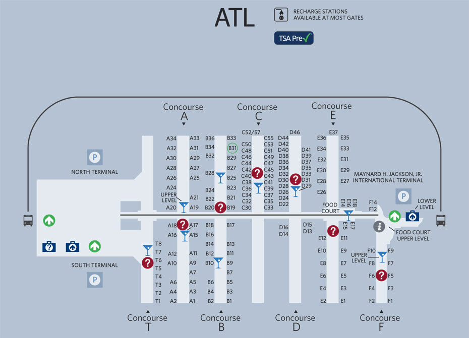 O é Voar Na Delta Fort Do Boeing 717200 Viajaromundo: Aeroporto De Atlanta Usa Mapa At Usa Maps