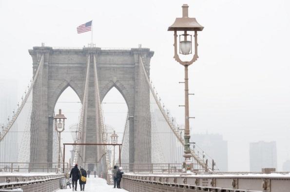 Brooklyn Bridge durante o inverno (Divulgação / NYC & Company)