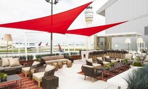 Sala VIP: Delta Sky Club no Aeroporto de Atlanta