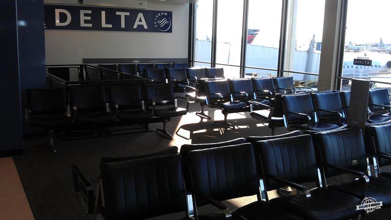 Sala da embarque O'Hare