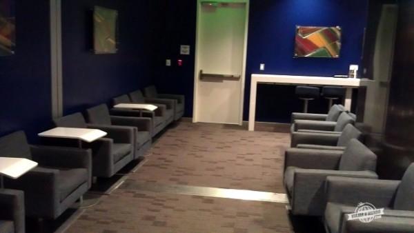 Poltronas - Delta Sky Club no Aeroporto de Atlanta