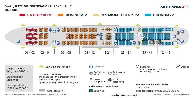 Como 233 Voar Na Classe Executiva Da Air France Boeing 777