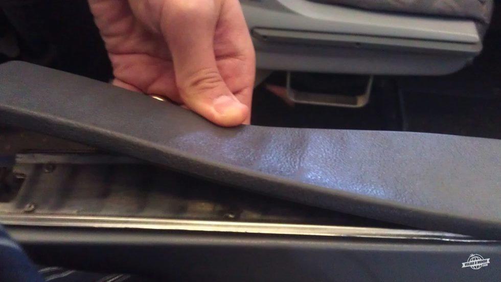 Braço do assento