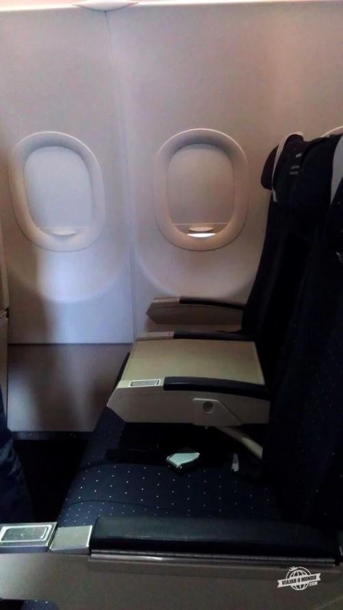Assento bloqueado