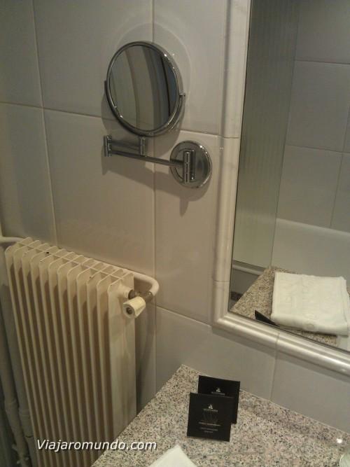 Aquecimento e espelho