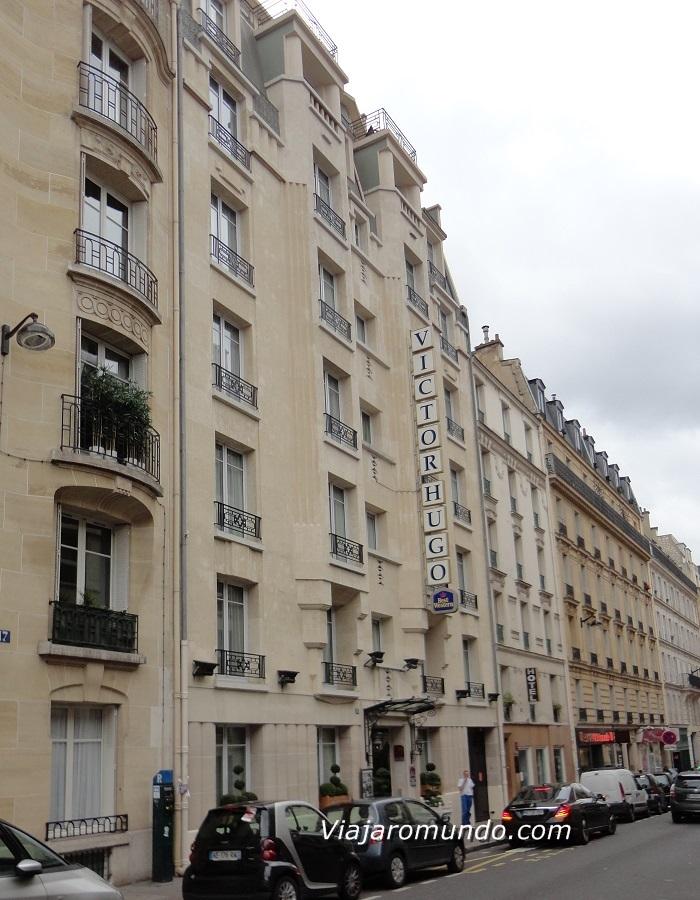 hotel em paris best western victor hugo