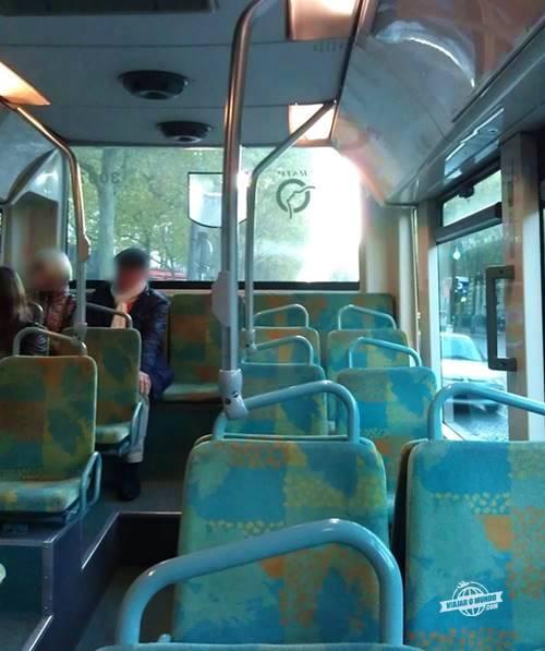 Fundo do ônibus