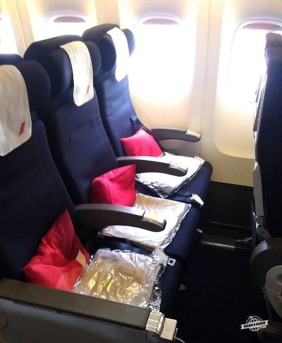 Assentos laterais