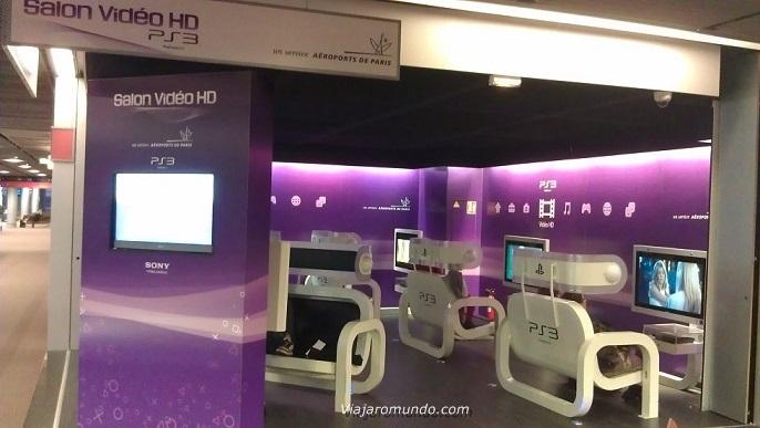 Espaço vídeo HD da Sony
