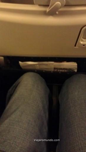 Assento desse voo