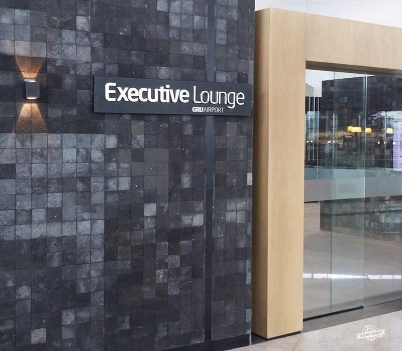 Entrada do Executive Lounge