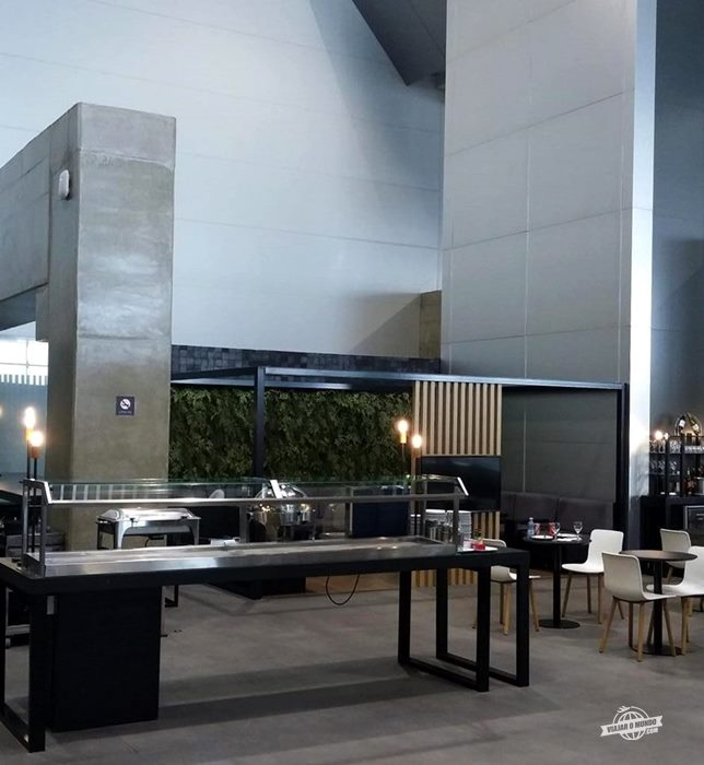 Área central do lounge