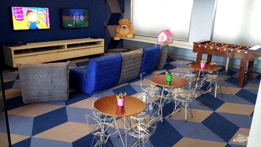 Interior da brinquedoteca