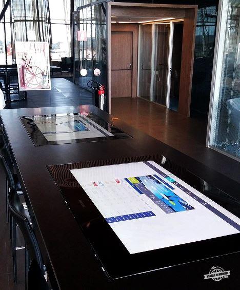 Painéis com tela touch screen